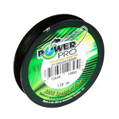 Power Pro Dyneema | Moss Green | 0.06mm | 135m